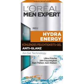 L`Oreal For Men Expert Hydra Energy kühlendes Gel ultra frisch