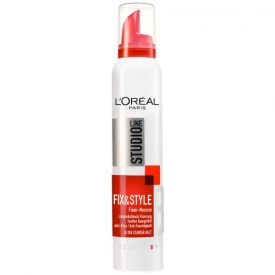 L`Oreal Styling Mousse Shine Fixier Studio Line Style