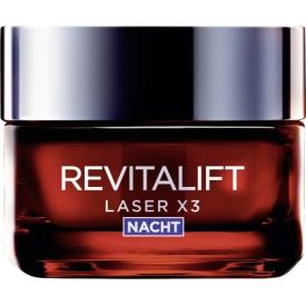 L`Oreal Paris Nachtpflege RevitaLift LASER X3 Nacht
