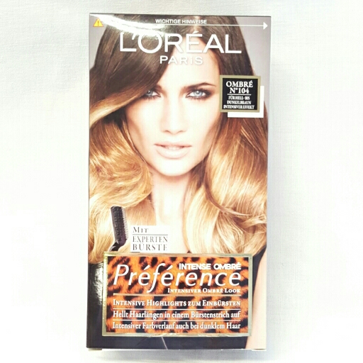 L`Oreal Coloration Preference für Hell bis Dunkelbraun 104