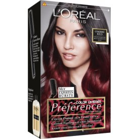 L`Oreal Haarfarbe Préférence Color Ombres red