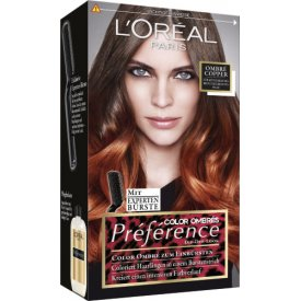L`Oreal Haarfarbe Color Ombres Preference dip dye look