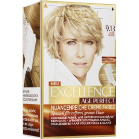 L`Oreal Paris Excellence Coloration Age Perfect 9.13 Beige Blond