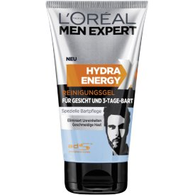 L`Oreal Men Expert Hydra Energy 3 Tage Bart Waschgel