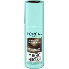 L`Oreal Magic Retouch Ansatzspray Ansatzspray Braun bis Mittelbraun
