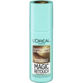 L`Oreal Magic Retouch Ansatzspray Dunkelblond bis Hellbraun
