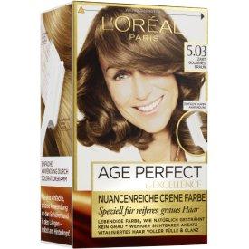 L`Oreal Paris Excellence Coloration Age Perfect 5.03 zart goldenes Braun