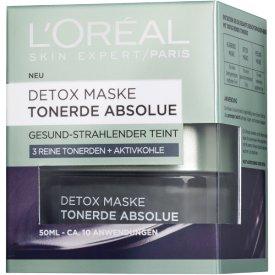 L`Oreal Skin Expert Tonerde Absolue Detox Maske