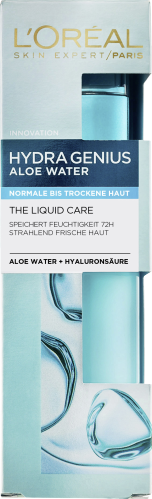 L`Oreal Paris Tagescreme Hydra Genius Fluid normale bis trockene Haut