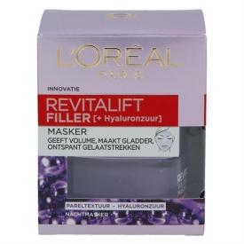 L`Oreal Paris Revitalift Filler Nacht Maske Expert Filler Anti-Age