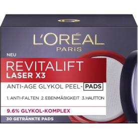 L`Oreal Paris Revitalift Laser X3 Anti-Age Glycol Peel Pads