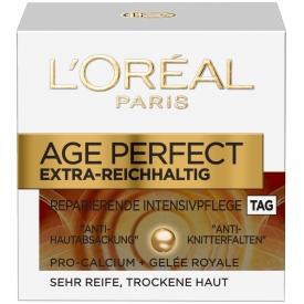 L`Oreal Paris Tagescreme AGE PERFECT Extra Reichhaltig  Manuka Honig