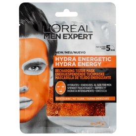 L`Oreal Paris Men Expert Hydra Energy Tuchmaske