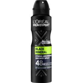 L'ORÉAL Men Expert Men Expert Deospray Black Mineral 150 ml