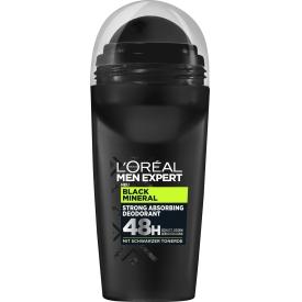 L'ORÉAL Men Expert Deo Roll-On Black Mineral 50 ml