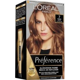 L'Oréal Paris Préférence Haarfarbe Infinia 7 Vienna Natur Mittelblond