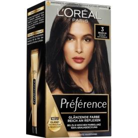 L'Oréal Paris Préférence Haarfarbe Infinia 3 Brasilia Dunkles Naturbraun