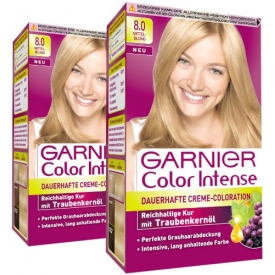 Garnier Dauerhafte Haarfabe Coloration Color Intense 8.0. Mittelblond