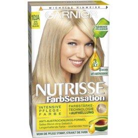 Garnier Nutrisse Intensive Pflege-Farbe  Farbsensation kühles Hellblond 10.1 A