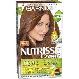 Garnier Creme Haarfarbe Nutrisse Creme Heller Bernstein