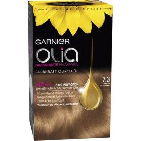 Garnier Dauerhafte Haarfabe Olia Dunlkes Goldblond 7.3