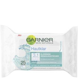 Garnier Reinigungstücher Klärende Reinigungstücher Hautklar 3in1