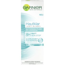 Garnier Anti Pickel Mattierende Anti Glanz  Anti Unreinheiten 8H Matt Non Stop