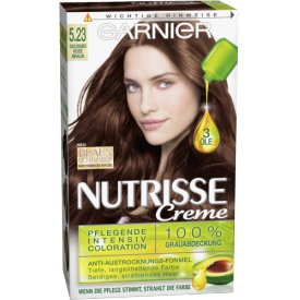 Garnier Nutrisse Coloration Goldenes Rosé Braun 5.23