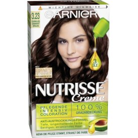 Garnier Nutrisse Coloration Dunkles Diamantbraun 3.23