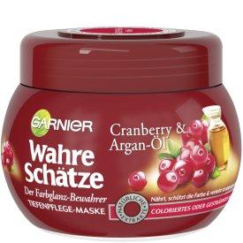 Garnier Haar-Maske Wahre  Schätze Cranberry&Argan-Öl