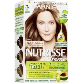 Garnier Nutrisse Nude Natürliches  Mittelblond 7N