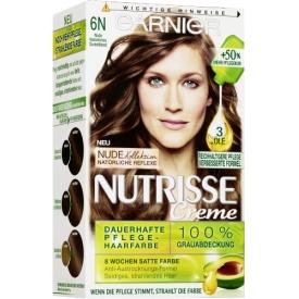 Garnier Nutrisse Coloration Nude Natürliches Dunkelblond 6N