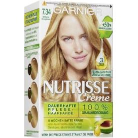 Garnier Nutrisse Coloration 7.33 Dark Honey