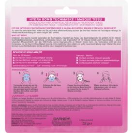 Garnier SkinActiv Hydra Bomb Tuchmasken Sakura Glow-Boosting Maske 1 St