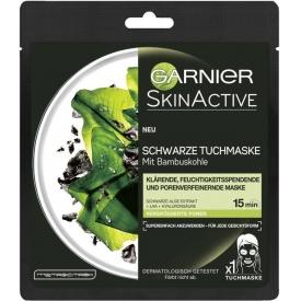 Garnier Tuchmaske mit schwarzer Alge - bei vergrößerten Poren 1 St