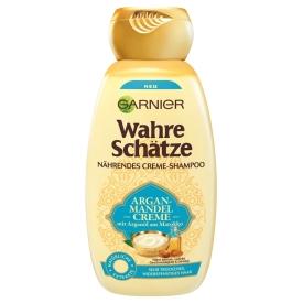 Garnier Wahre Schätze Argan-Mandel Creme nährendes Creme-Shampoo