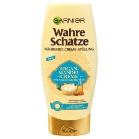 Garnier Wahre Schätze Argan-Mandel Creme nährende Creme-Spülung