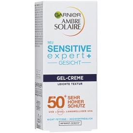 Garnier Ambre Solaire Sensitive expert Gesicht Gel Creme LSF50+
