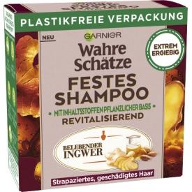 Wahre Schätze Festes Shampoo Belebender Ingwer