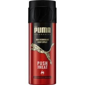 Puma Deo Spray Deodorant Push The Heat
