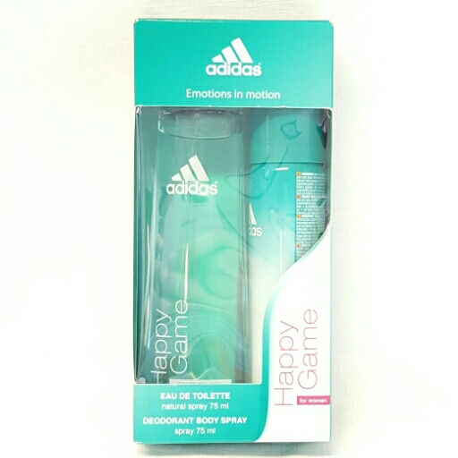 Adidas  Geschenkset for Woman Happy Game Eau de Toilette