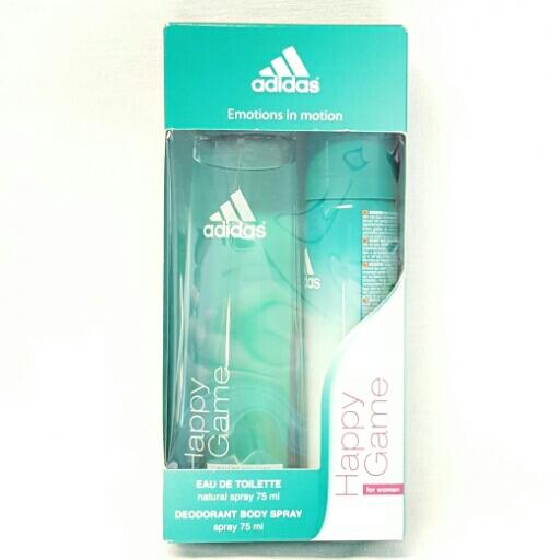 Adidas  Geschenkset for Woman Happy Game Eau de Toilette