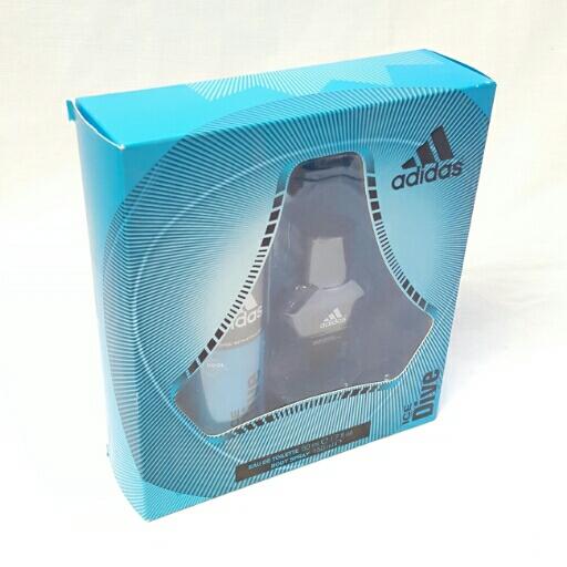 Adidas  Geschenkset Ice Dive Body Spray & EDT