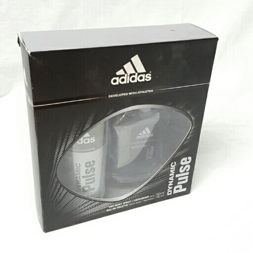 Adidas  Geschenkset Dynamic Pulse Herren Deo & EDT
