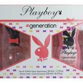 Playboy Geschenkset Generation for Women Edt und Duschcreme