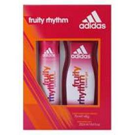 Adidas  Geschenkset Deospray 75ml + Duschgel 250ml Fruity Rhythm