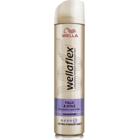 Wella Haarspray Fülle & Style für Feines Haar Stärke 5 Wellaflex