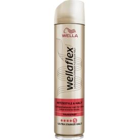 Wellaflex Haarspray Hitze Style & Halt Ultra Starker Halt