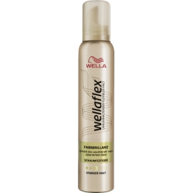 Wella Schaumfestiger Wellaflex Color Farb Brillanz Stärke 2