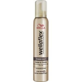 Wella Wellaflex Ultra Strong Hold mousse form Finish Schaumfestiger